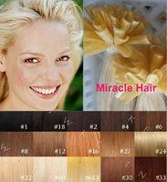 Bulk Stock: 18'' 20'' 22'' 24'' #60 blonde 100s/lot 1g/s straight Keratin U tip Nail Indian Remy human Hair Extensions