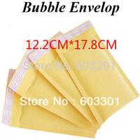 WholeSale Bubble Envelope Mailer Air Bag Overal size is 122mm x 178mm, 100pcs/lot packing envelop