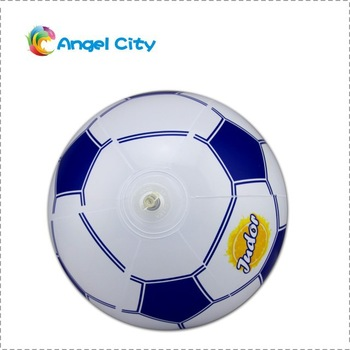 Beach Ball Inflatable Football Ball PVC Toy for Beach Pool swimming ball child's football Free shipping