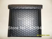 Free shipping  Matt Black aluminum foil bubble envelope mailers 20*20cm,metallic bubble bags