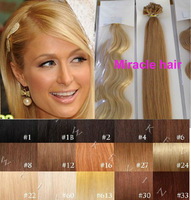 Bulk Stock: 18'' 20'' 22'' 24'' 100s/lot 1g/s straight/wavy Prebonded Keratin U tip Nail Indian Remy human Hair Extensions