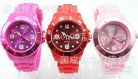 fashion ladies sport Watch womens jelly Silicone boy candy children quartz kids wrist watches girls