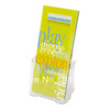 Single Compartment Literature Holder-Leaflet Size Clear Brochure Catalog Sign Holder Display Stand(China (Mainland))
