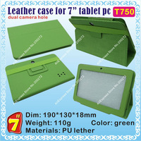"[T750] Q88,Q8 (CPU/Allwinner A13) Hard case for 7"" tablet PC; dual camera hole"