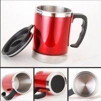 2013 Brand New Free Shipping 450 ML  Car Mug Stainless Steel
