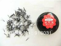Cross shape korea eyelash extension soft  silk false fake eyelash 180pcs in box packing