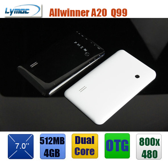 Wholesale Cheap 7 inch dual core tablet pc allwinner A20 + android 4.1 + dual camera + HDMI