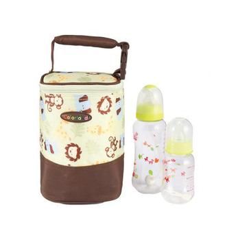 Free shipping multifunctional mother bag Bottle Insulation Cover Baby Bottle Warmer Bag Feeding Bottle Cover brand items MA11
