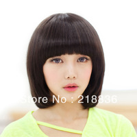 Hot Sale, Free Shipping Girls Short  Fluffy Exquisite Hairwig,Hair extension,