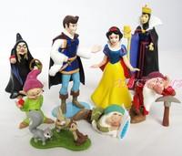 New Princess Snow White Figurine Figure set of 8pcs