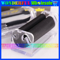Free Shipping 20pcs/lot Tobacco Roller CIGARETTE ROLLING MACHINE 70mm Regular Portable gift