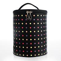 Large capacity shaping fog flower bucket cosmetic bag semiportable twinset professional makeup bags multi-purpose storage bag