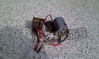 Esc hsp 540 brush motor