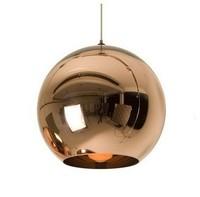 1pc 15cm,20cm,25cm,30cm 35cm,40cm,45cm Tom Dixon Copper Shade Mirror Ball Ceiling Light Lamp Lighting