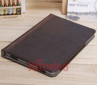 2013 Hot Sell Brand New Leather Protective Shell Case For Ipad Mini Skin Cover Book Case For Apple Ipad Mini Free Shipping