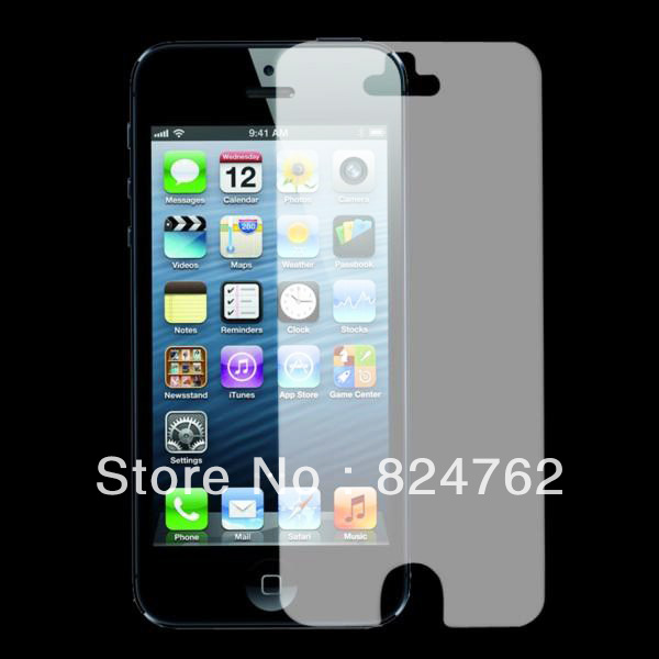 DropShipping Free shipping For iPhone 5 5G 6th Clear Screen Protector - LCD protective Film Plastic Cover DC985(China (Mainland))