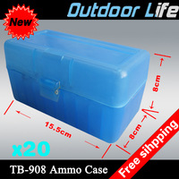 Free shipping new Wonderful lightweight ammo box!! TB-908 Ammo case shooting box hunting box R-100 Rifle
