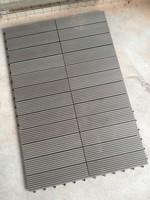 Easy install-interlocking ,waterproof outdoor and indoor wood plastic composite/wpc tiles