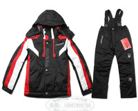 Free shipping (Sp---ide--r) Outdoor Children's ski suits, suit child Jackets boys and girls jacket 001m