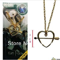 DHL/FEDEX/EMS free shipping Harry potter magic wand RON necklace FREE SHIPPING  18&quot; chain