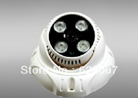 Free shipping Hot sale 600TVL HD IR CCTV Dome Camera 4pcs Led Array Camera Night Vision 20m lowest price free shipping