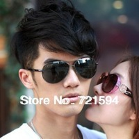 Free Shipping Fashion Trend Sunglasses Dark Glasses Frog Mirror Men And Women All Can Use