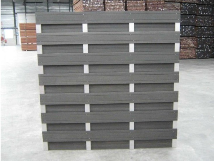 Beautiful looks and eco-friendly wood plastic composite/wpc fence(China (Mainland))