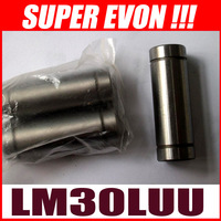 6pcs Long Bearing linear sliding Bushing LM30LUU Linear Motion for 30mm linear shaft rod MB0088#6