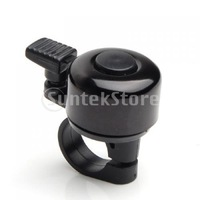 Free Shipping Bicycle Bike Handlebar Bell Ring Aluminum - Black
