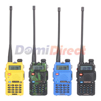 Baofeng Walkie Talkie Dual band VHF&UHF Baofeng UV-5R 136-174MHZ 400-480MHZ 128channels 5-7KM baofeng uv 5r