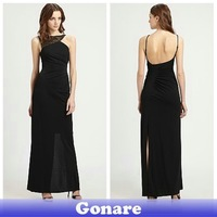 EG070 Gonare Freeshipping!Charming 2013 Sexy Shinning Spaghetti Strap Prom Ball Party Gown Evening Long Dress