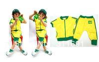Free shipping,wholesale 6 sets/lot children sporty suit,children jacket+pant,children wear,kids suit,baby suit