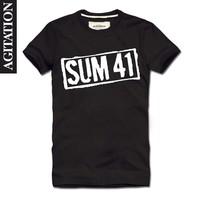 Agitation 2013 100% short-sleeve cotton round neck T-shirt 41 sum