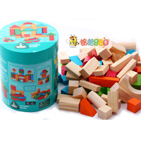 Elc 75pcs bottled blocks love song 66 blocks water-based paint