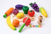 Extra large fruit qieqie see child wool puzzle high quality artificial toys