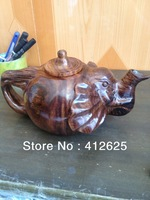 Nammu wood carving teapot freeshipping
