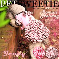 Elegant tutu pet clothes dog clothes autumn dog skirt Teddy clothes puppy skirt