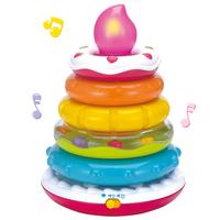 Educational toys 0-1 year old baby birthday cake music set taoquan 0730
