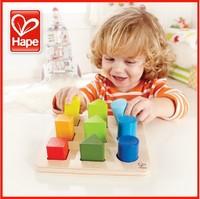 Hape gradient blocks toy big wool new arrival wooden puzzle