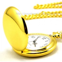Dial:45mm of rich gold egg-shaped polished classic retro fashion the pocket watch for men and women antique pcoket watch
