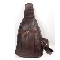 New Fashion Men Genuine Cow Leather Totes Purse Small Handbag Shoulder Bags Backpacks