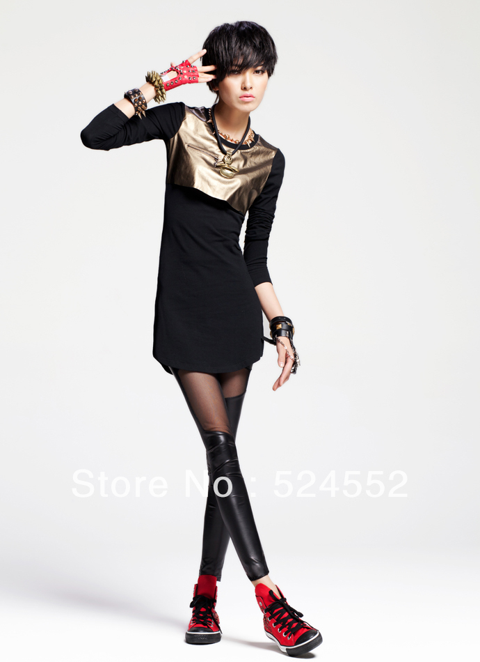 Free shipping 2013 autumn new models women clothes, t-shirt S2012113T(China (Mainland))
