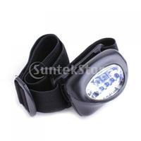 Free Shipping 5 LED Flashlight Headlamp Torch Light Head Lamp