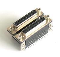 Connector db25 double layer vxd lock screw