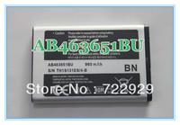Original AB463651BU Phone Battery for Samsung Diva Touch GT S7070 SGH F400 Genoa GT C3510 SGH J800 SGH L700 in Retail Package
