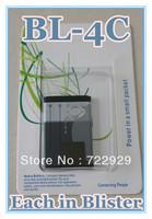 Original BL-4C Cellphone Battery for Nokia 6125 6136 6170 6260 6300 6301 7200 7270 Free Tracking