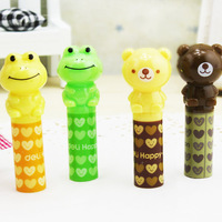 stationery New arrival lackadaisical pencil sets 0506 cool lovely pencil cap pencil extender the cap