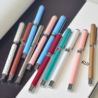 Stationery quality unisex pen metal material 0.5mm stationery