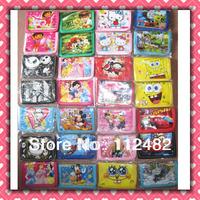 Free shipping Cartoon kids wallet Children purses 12pcs/lot