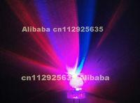 500PCS RGB Automatic slow flashing 10mm round led diode 3.0-3.5V 15-20mA (CE&Rosh)